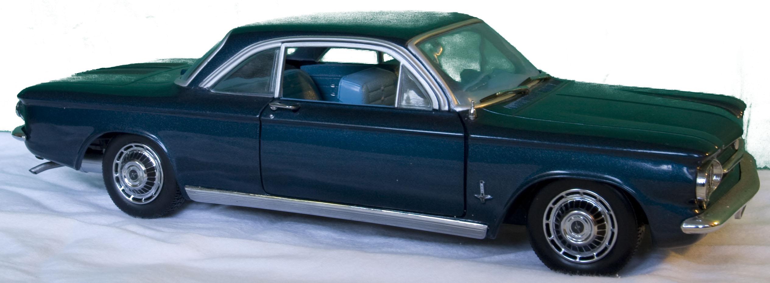 Gianpieros blog Chevrolet  Corvair 900 Monza Californian 1963